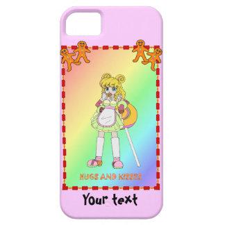 Lisa Lollipop with gingerbread men iPhone SE/5/5s Case