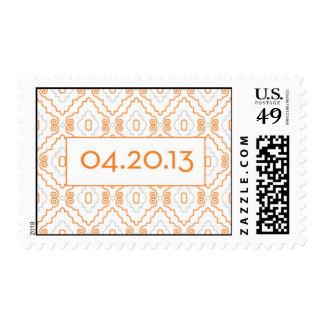 Lisa-Merrick stamp with date - medium size