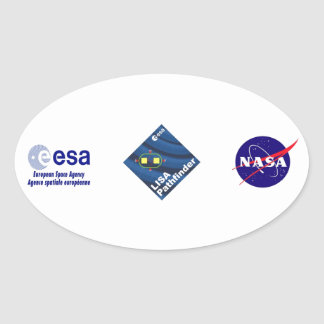 LISA Pathfinder Oval Sticker