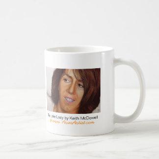 Lisa, The Joke Lady: www.AriesArtist.com Classic White Coffee Mug