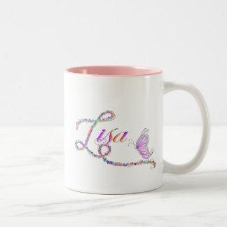 lisa Two-Tone coffee mug