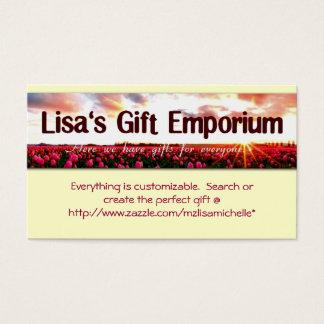 Lisa's Gift Emporium - Monogram shop Profile Card