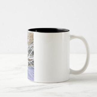 Lisa's Tree Two-Tone Coffee Mug