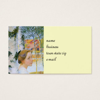 Lisbeth  at the Birch Trees Business Card