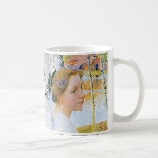 Lisbeth  at the Birch Trees Coffee Mug