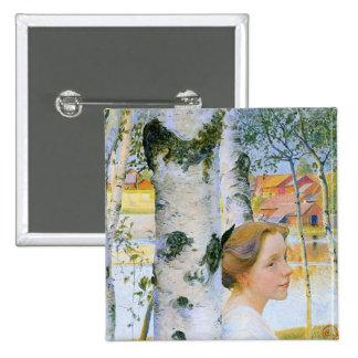 Lisbeth en los árboles de abedul pin