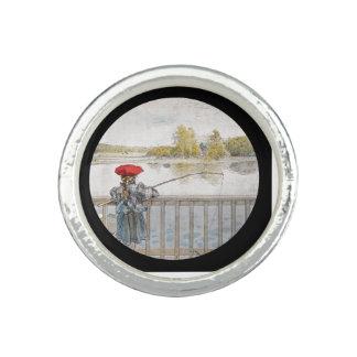 Lisbeth Fishing 1898 Photo Rings