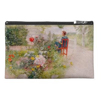Lisbeth  in the Flower Garden Travel Accessories Bags