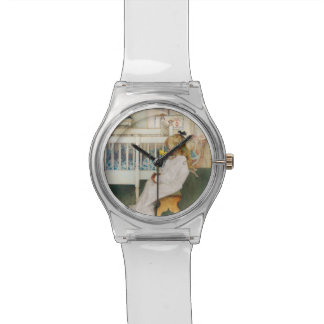 Lisbeth with Yellow Tulip Wrist Watch
