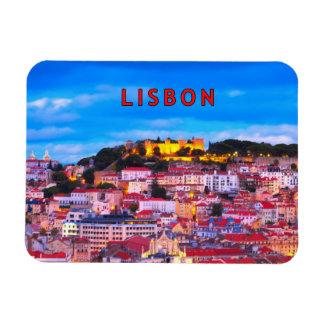Lisboa 001B Imanes De Vinilo