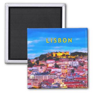 Lisboa 001C Imán De Frigorifico
