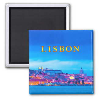 Lisboa 003S Imán De Frigorífico