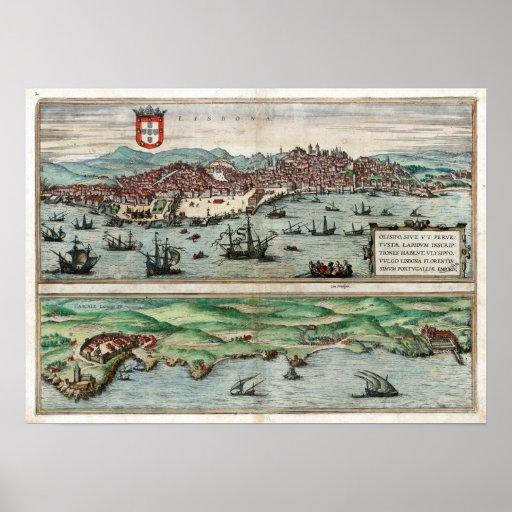 Lisboa 1572 posters
