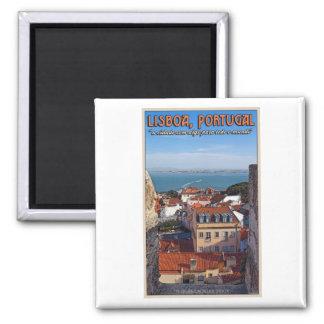 Lisboa - barco en el Tejo Imán De Nevera