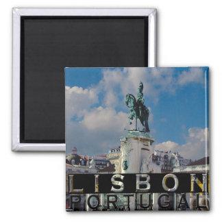 Lisboa Imán Cuadrado