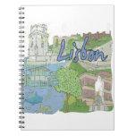 Lisboa Libro De Apuntes Con Espiral