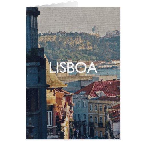 Lisboa - Lisboa Felicitación