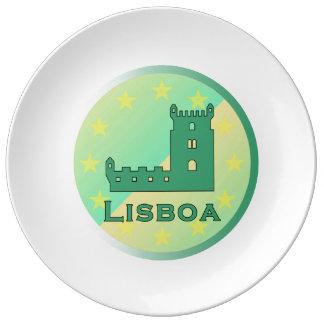 Lisboa Porcelain Plate