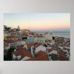 Lisboa Portugal Póster
