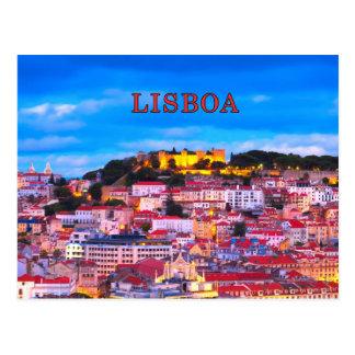 Lisbon 001D Post Card
