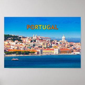 Lisbon 002F Poster