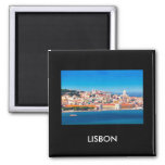 Lisbon 002W 2 Inch Square Magnet