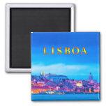 Lisbon 003T 2 Inch Square Magnet