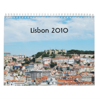 Lisbon 2010 calendar