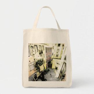 LISBON - ALFAMA Grocery Tote Bag