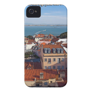 Lisbon - Boat on the Tejo iPhone 4 Case-Mate Case