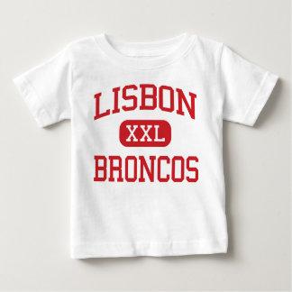 Lisbon - Broncos - Middle - Lisbon North Dakota Baby T-Shirt