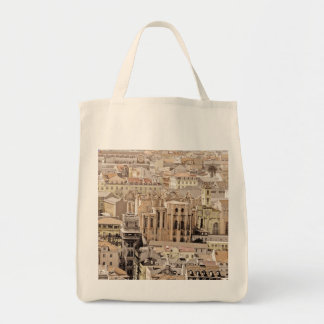 LISBON CITYSCAPE (URBAN CHIC) Grocery Tote Bag