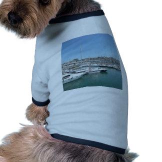 Lisbon Docks Dog T-shirt