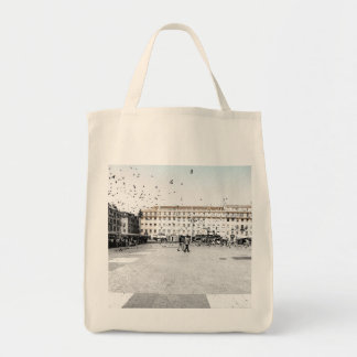 LISBON DOWNTOWN (URBAN CHIC) Grocery Tote Bag