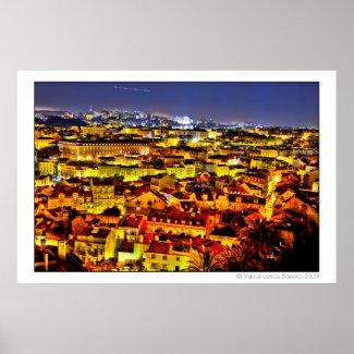 Lisbon Lovers 001 Print