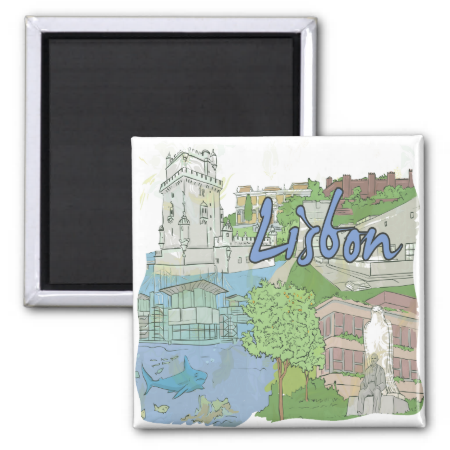 Lisbon Magnet