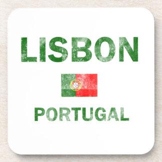 Lisbon Portugal Designs Coaster