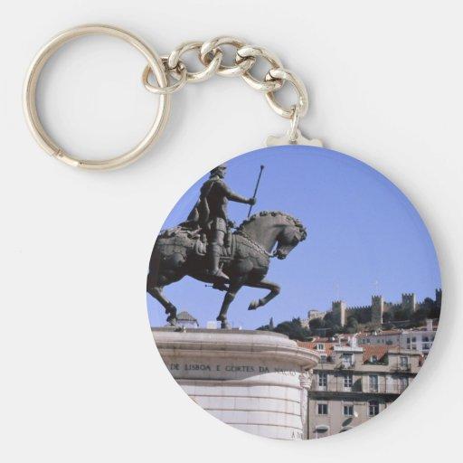 Lisbon, Portugal Key Chain
