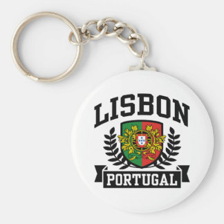Lisbon Portugal Keychain