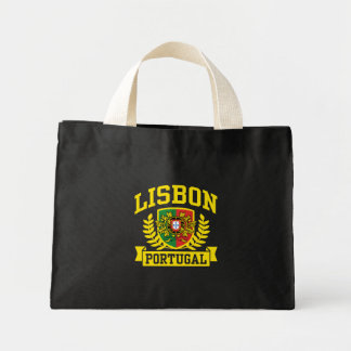 Lisbon Portugal Mini Tote Bag