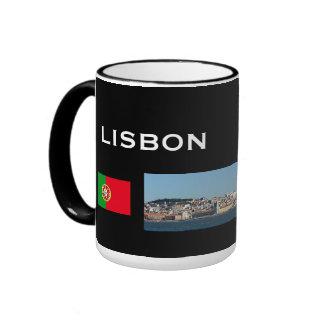 Lisbon Portugal Panoramic Mug
