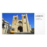 Lisbon Postcard Photo Card Template