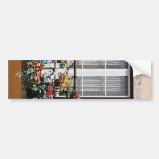 Lisbon´s window balcony bumper sticker