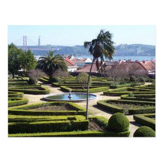 Lisbon scene 2 postcard