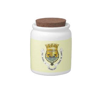 Lisbon Snack Jar Candy Dishes