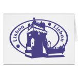 Lisbon Stamp Card