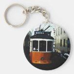 Lisbon tram key chains