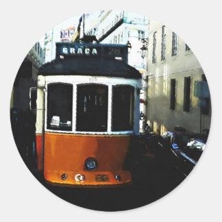 Lisbon tram sticker