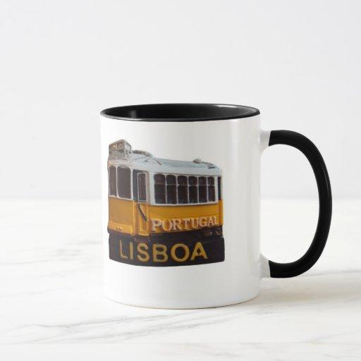 Lisbon Tramn Mug