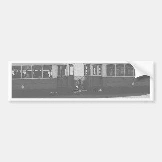 Lisbon trams bumper sticker